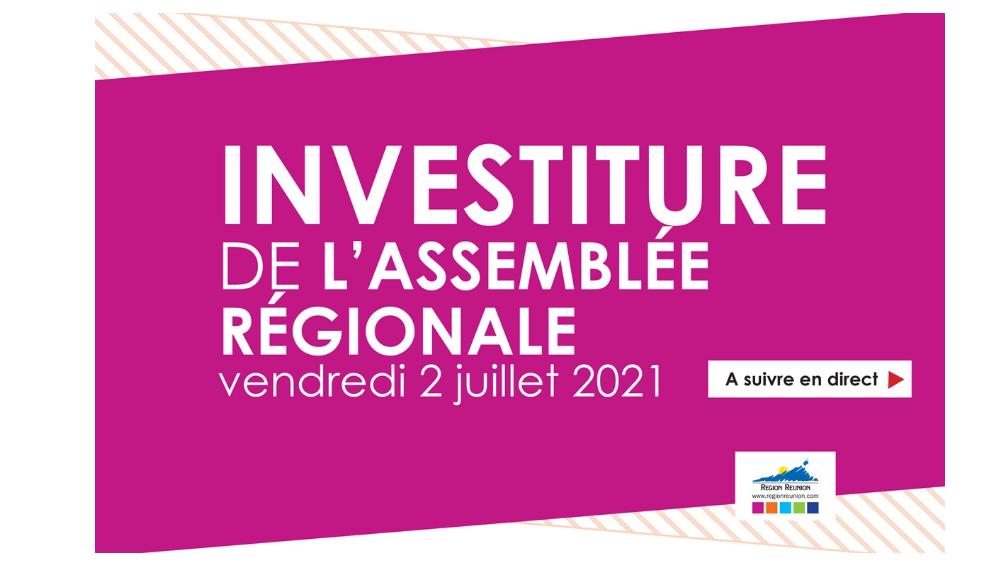 Investiture : Assemblée Régionale du 2 juillet 2021