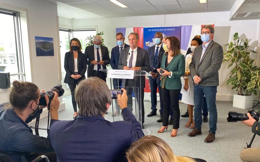 La Présidente de Région Huguette Bello participe au renouvellement des instances de l'Association de Régions de France