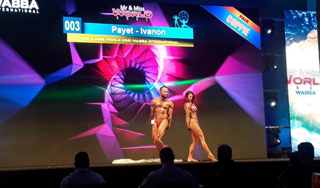 Marina Payet et Yvan Ivanov - Top 3