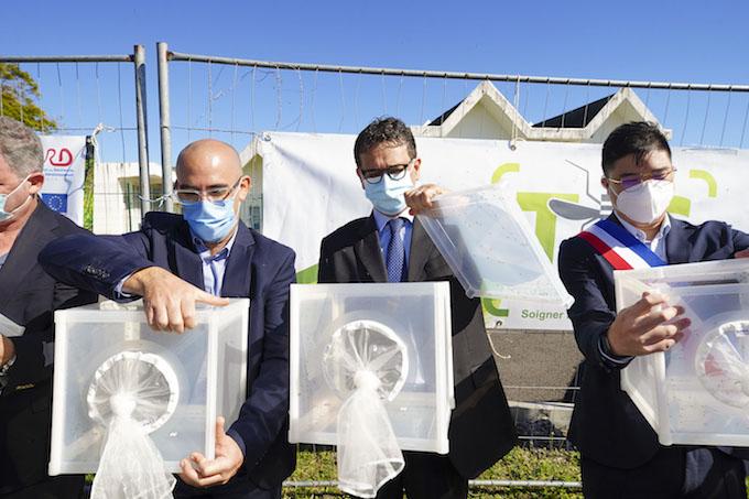 Opération de lâchers de moustiques dans le cadre du projet TIS