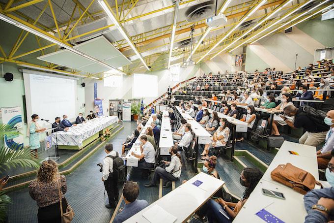 Accueil des étudiants internationaux à l'Université de la Réunion