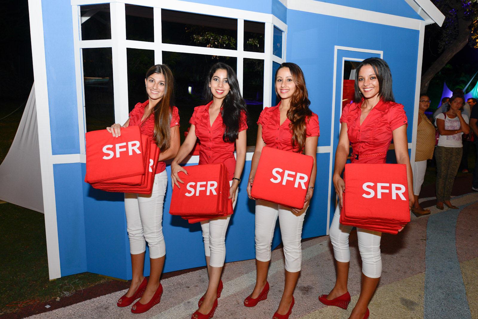 Soirée SFR avec la participation de Maxime Le Forestier