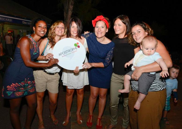 Daniela Cravoe Canela, Léa Matet, Cobie Rosewarne,  Julie Casterman, Albane Diringer, et Marie Ardouin