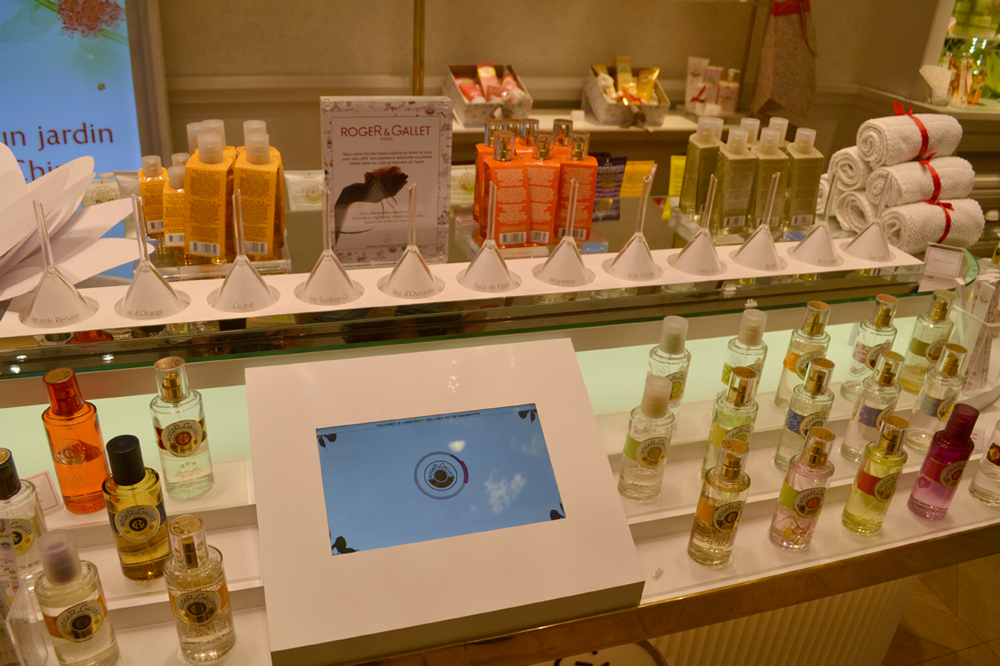 L'extraordinaire boutique Roger & Gallet