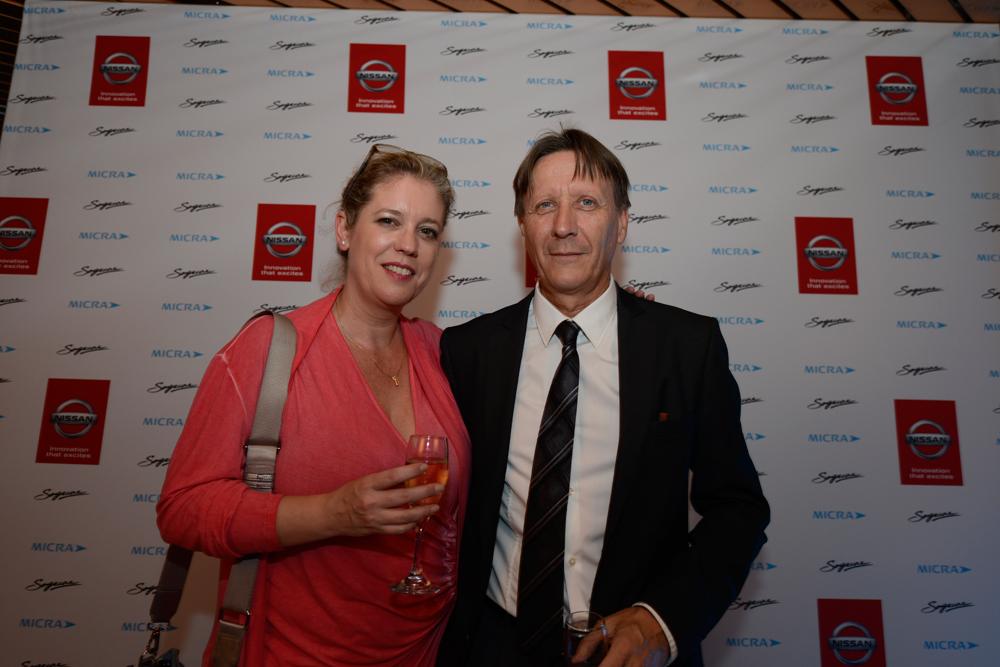 Maria Fernandez de Nissan,  et Alain Bosc de la Sogecore