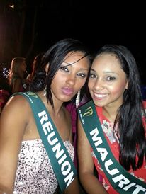 Miss Earth Réunion et Miss Earth Maurice