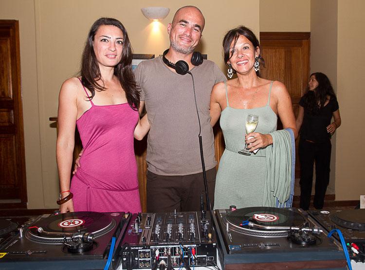 Virginie de Lazonedart, DJ Ago et Mag, la créatrice des sacs