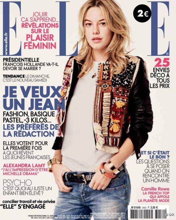 Camille Rowe: française et nouvelle égérie Victoria's Secret