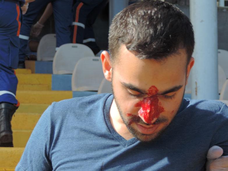 Catastrophe au Stade de La Redoute... Un exercice grandeur nature