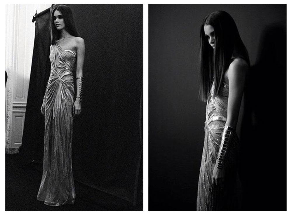 Backstage Atelier Versace Spring 2014 / dimanche 19 janvier 2014