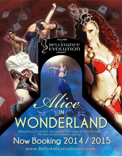 Alice au pays des merveilles,  c'est le nouveau spectacle pour 2014/2015