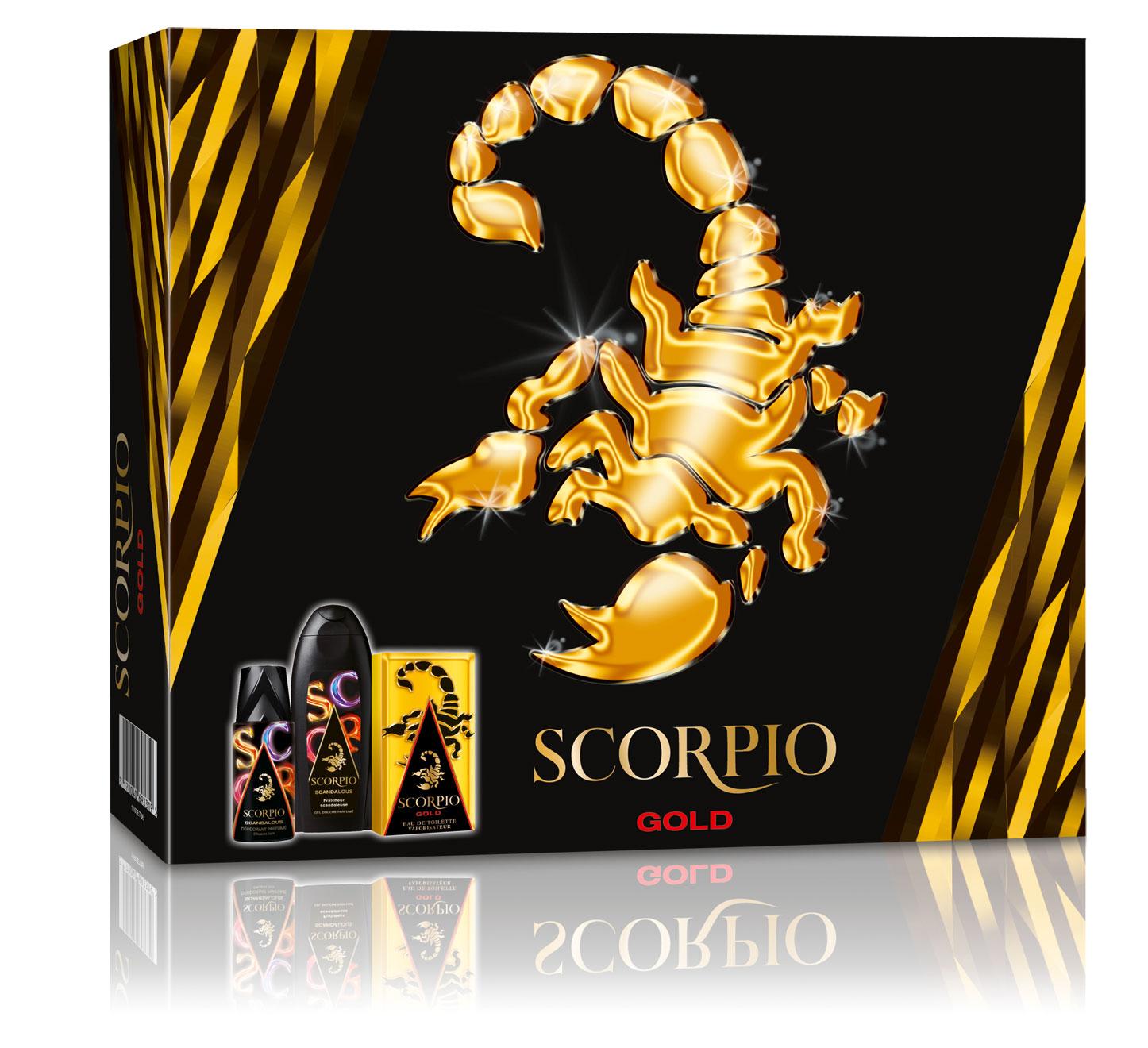 Coffret Scorpio, une Saint-Valentin très virile