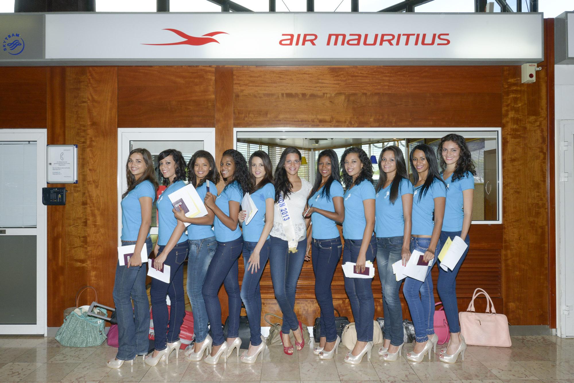 Miss Réunion 2014 - Accueil à Maurice