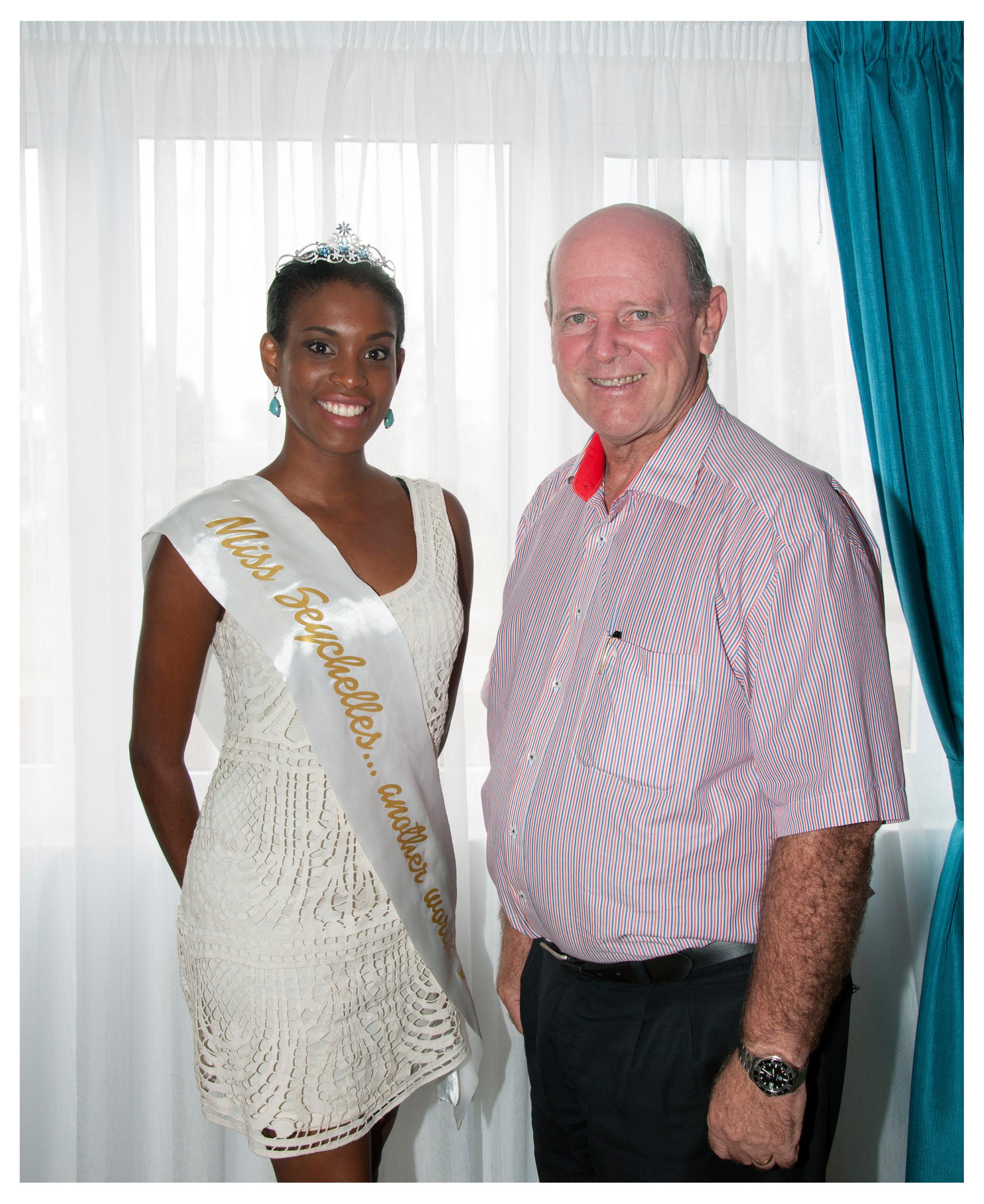 Camilla Estico, Miss Seychelles 2014