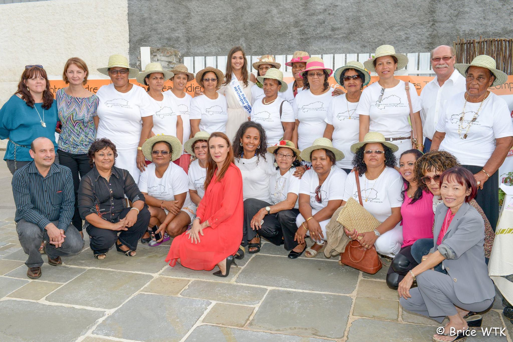 Semaine Rodriguaise avec l'EFOIR - Anne-Gaëlle Laterrière, 1ère dauphine de Miss Réunion, est dans le jury