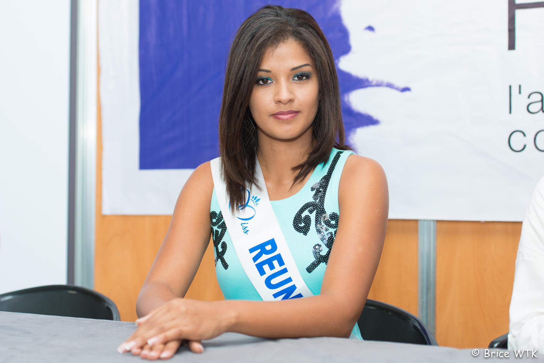 Ingreed Mercredi, Miss Réunion 2014 et Marraine de l'opération de solidarité à Magik'Land du Mercredi 13 Août