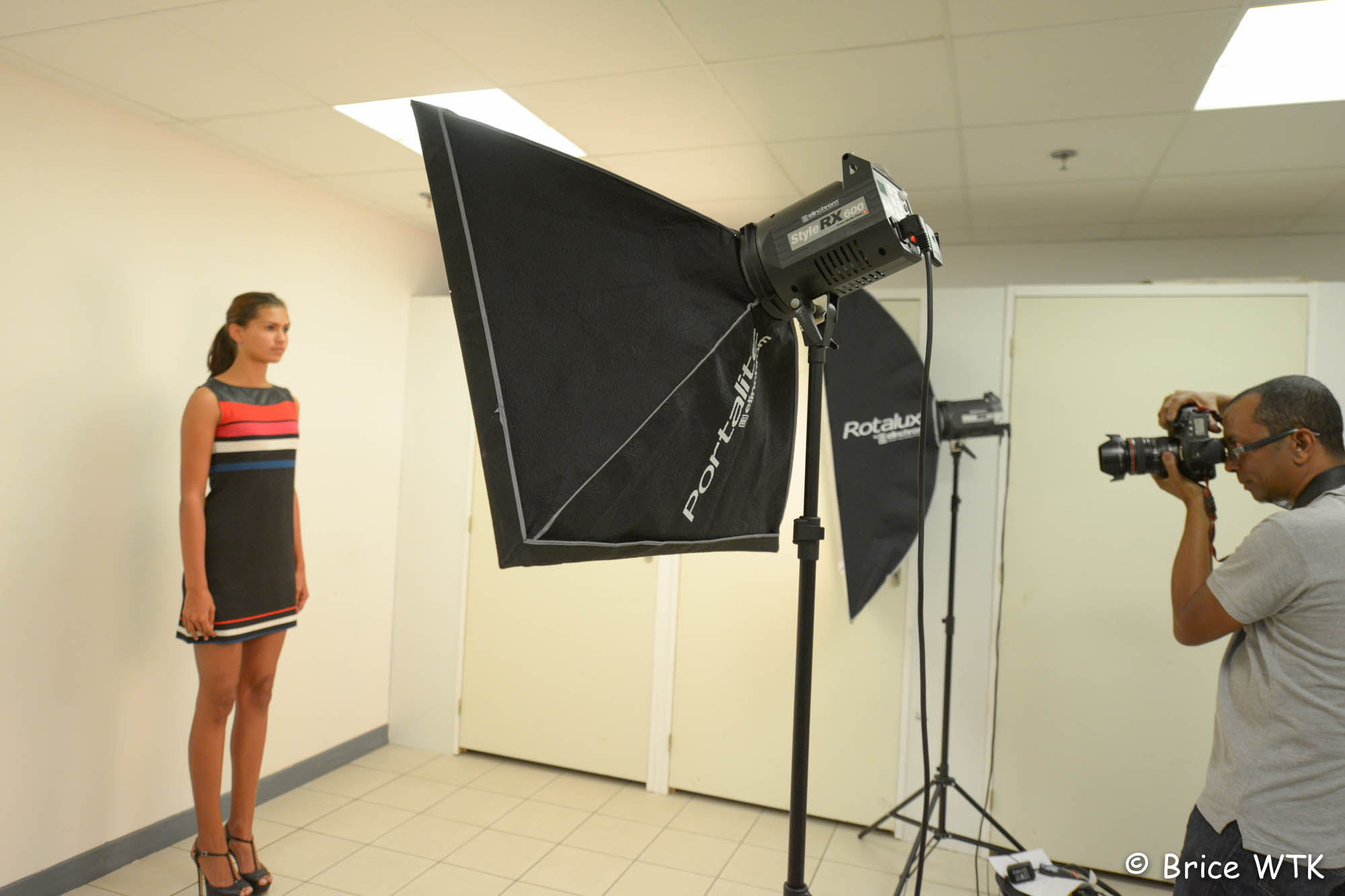 Casting Elite Model Look Reunion: l'affluence à Saint-Pierre