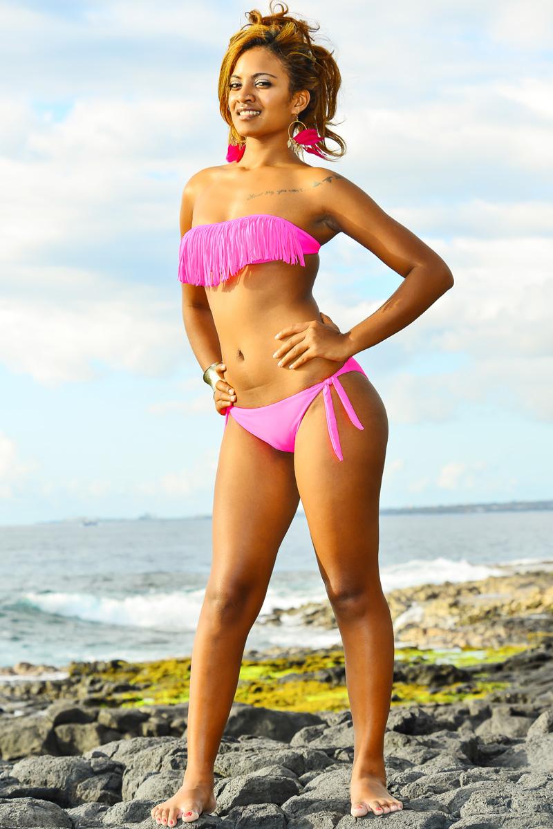 Elle aimerait faire de la pub à La Réunion, avis aux amateurs!