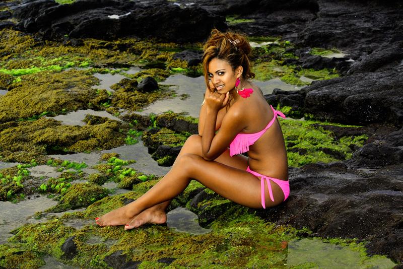 Amélie apprécie La Réunion où elle a décidé de revenir régulièrement…
