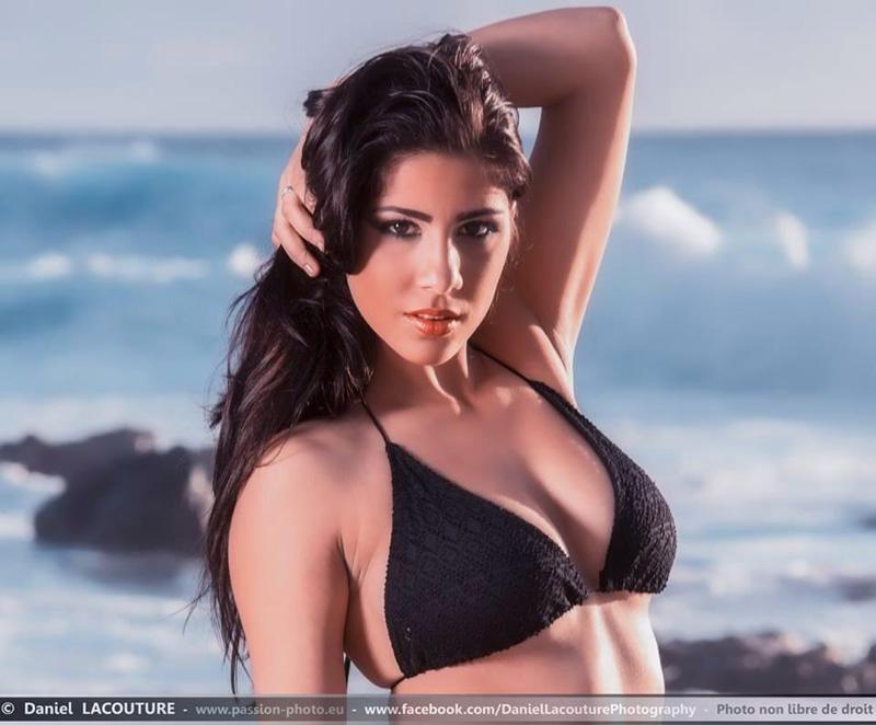 Lucy Delaporte, 19 ans, 1,65 m, un très beau visage et un corps de sportive…