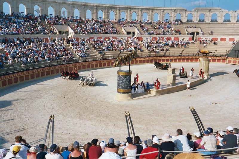 L'époustouflant show des gladiateurs!