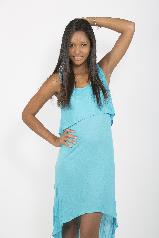 Raissa Cadarsi, lauréate Elite model look Réunion 2014