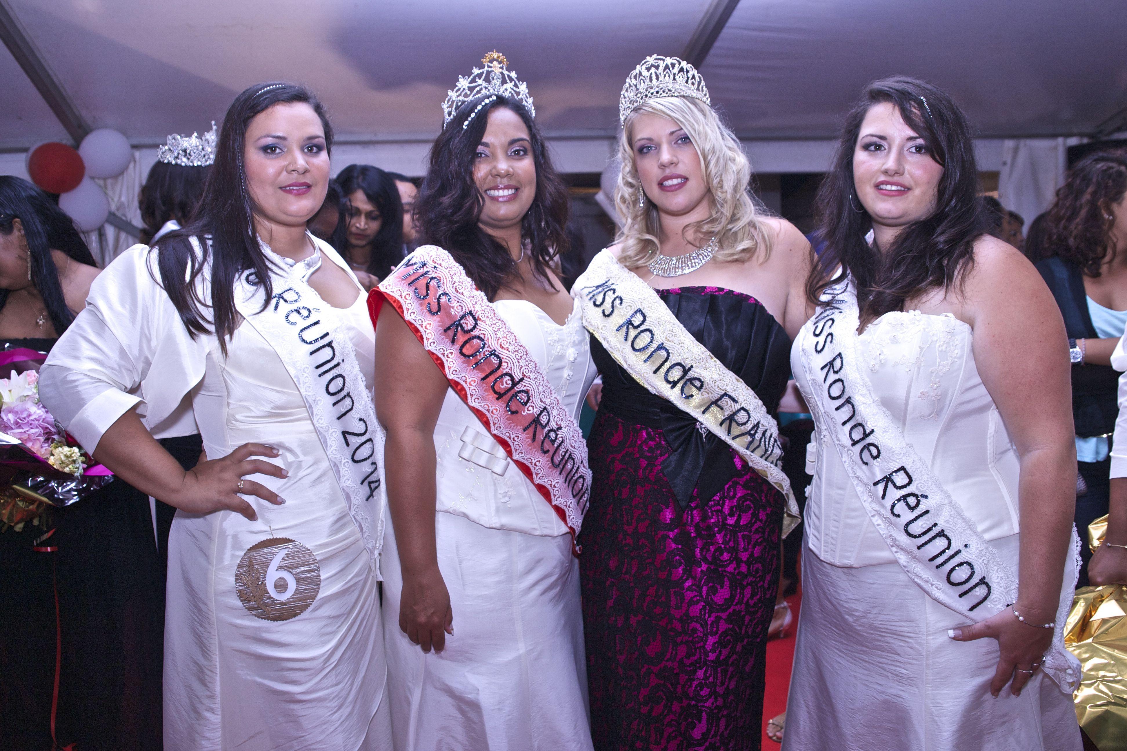 Miss Ronde Réunion 2014, Emmanuelle Clarisse élue
