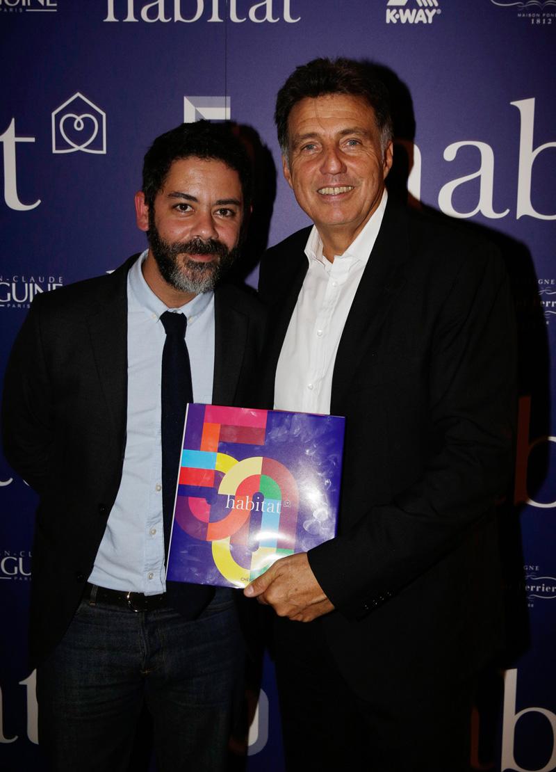Manu Payet et Hervé Giaoui
