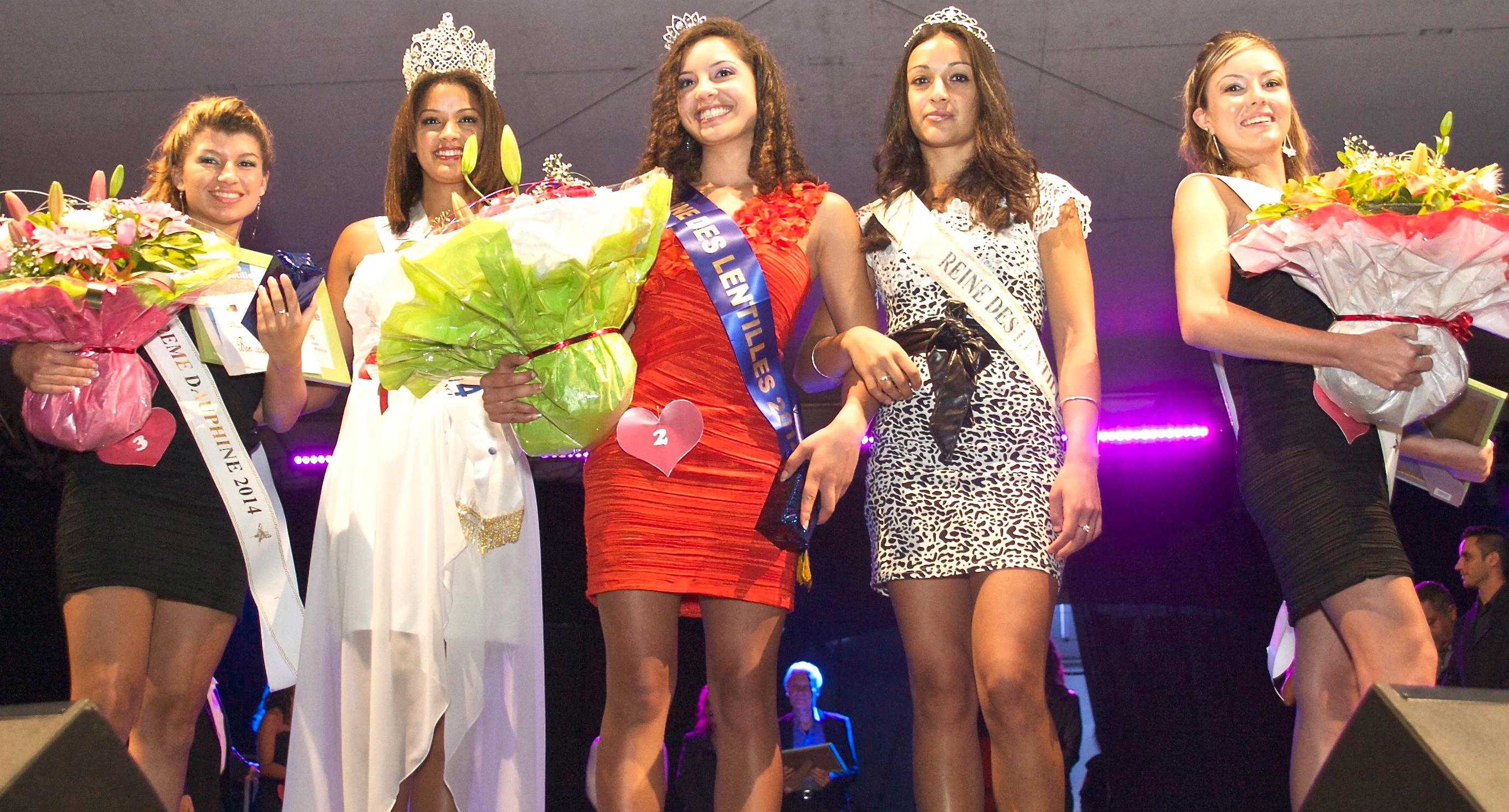 Reine des Lentilles 2014 <br>Mélanie Picard élue