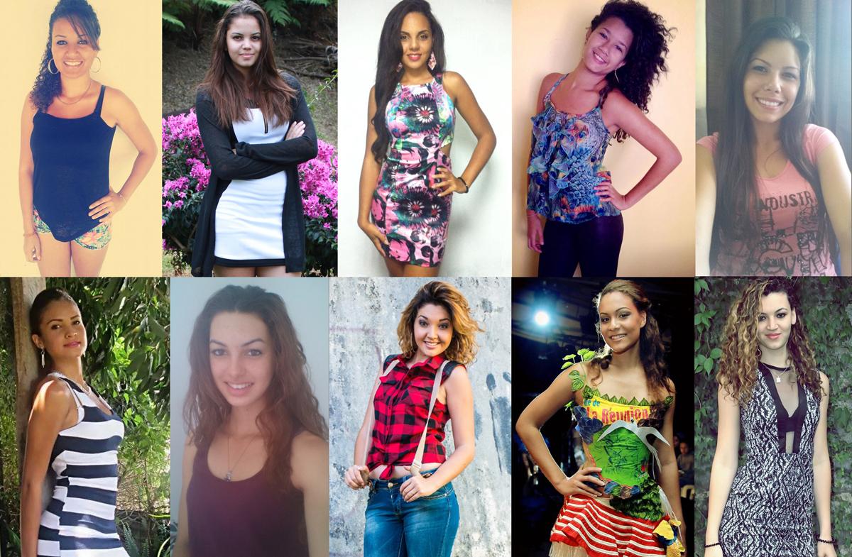 Miss Saint-Joseph 2014 <br>Les 10 candidates du Sud Sauvage