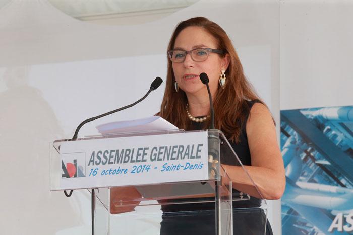 Françoise De Palmas, secrétaire générale de l'ADIR