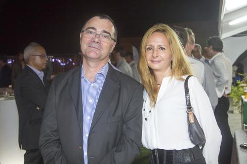 Frédéric Auche, administrateur de l'Adir, et Sandrine Dunand-Roux, déléguée générale du Medef