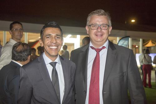 Younous Omarjee, député européen, et Frédéric Cormerois, directeur régional Bred Banque Populaire