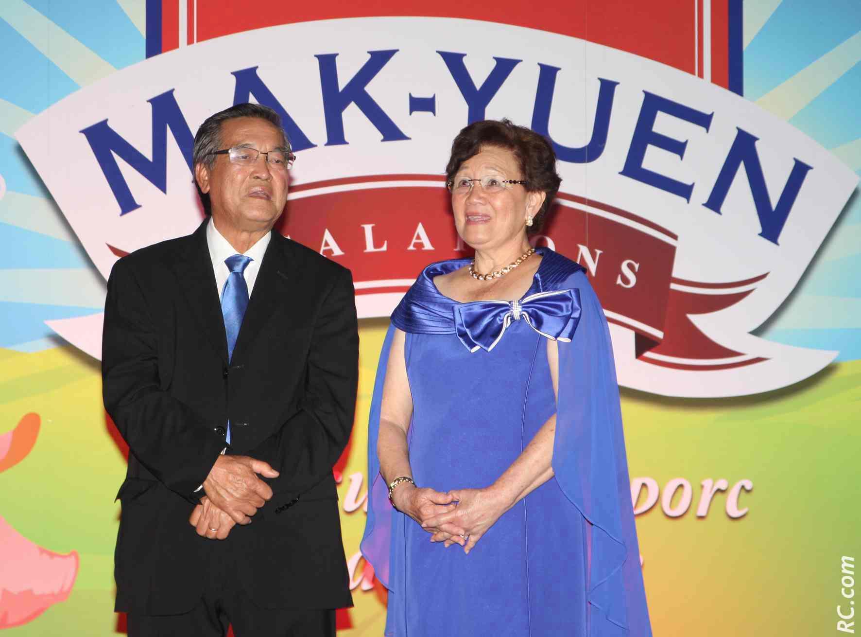 Emmanuel Mak-Yuen et son épouse Dorothy