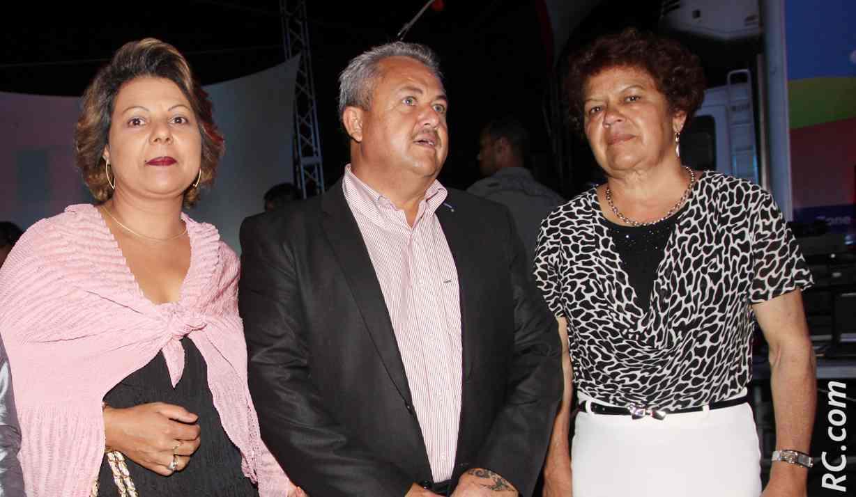 Henri-Claude Robert, directeur de la Croix-Rouge et son épouse, Augustine Romano, adjointe au maire du Tampon