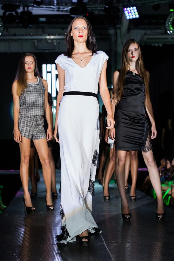 Le soir de la finale Elite Model Look Réunion 2014
