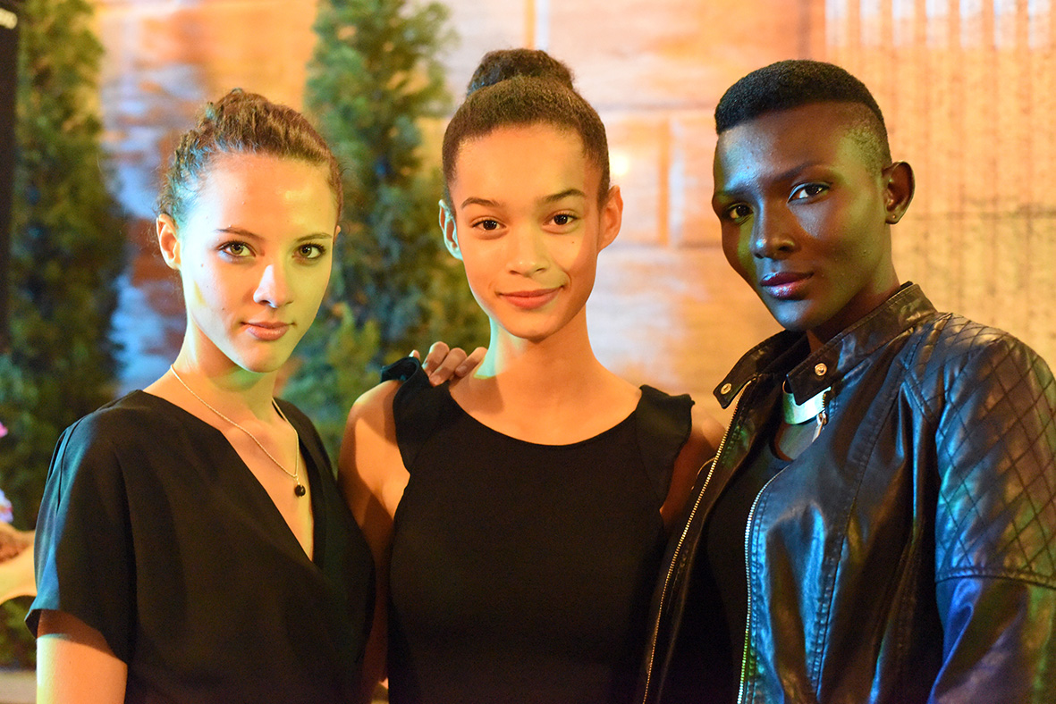 Jade, Noémie et Awa