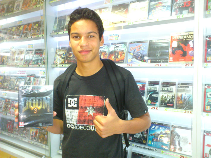 Pierre Bodzen a gagné DOOM 3: BFG EDITION sur Playstation 3