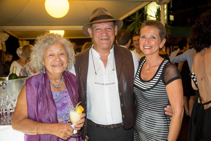 Claudine Cazaubon, Joël Manglou, et Nelly Hirigoyen