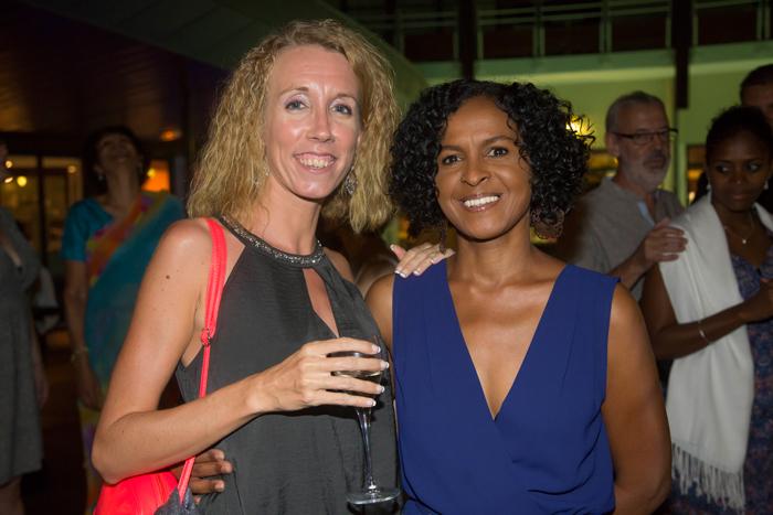 Isabelle Bassat, coordinatrice de Coeur et Conscience, et Renée Fages