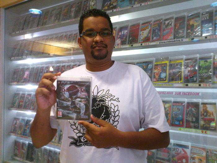 Kévin Poreaux a gagné BAYONETTA sur Playstation 3