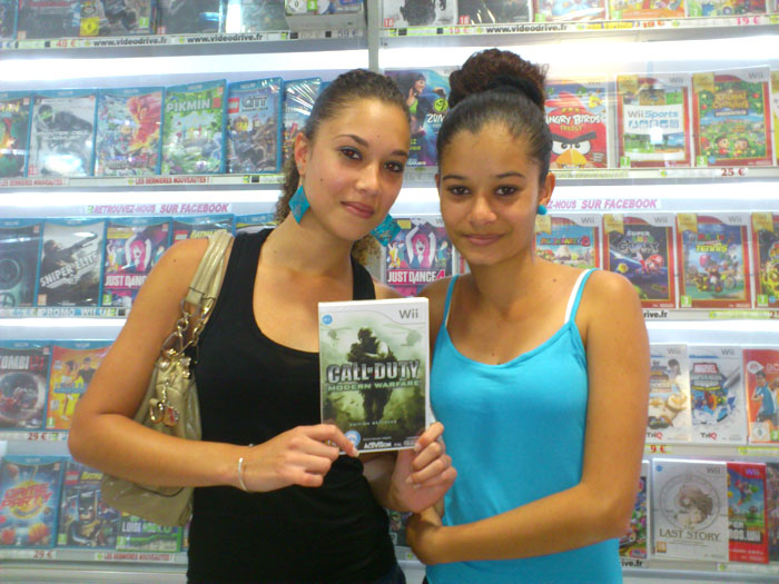 Lisa Maillot a gagné CALL OF DUTTY: MODERN WARFARE sur Wii