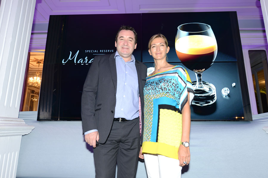 Pacal Turonnet, directeur de l'hôtel Mercure Creolia et son épouse Virginie