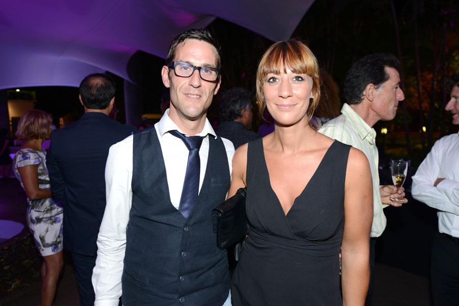Bertrand Daunes et Audrey Dubois, responsable de Beauty Success