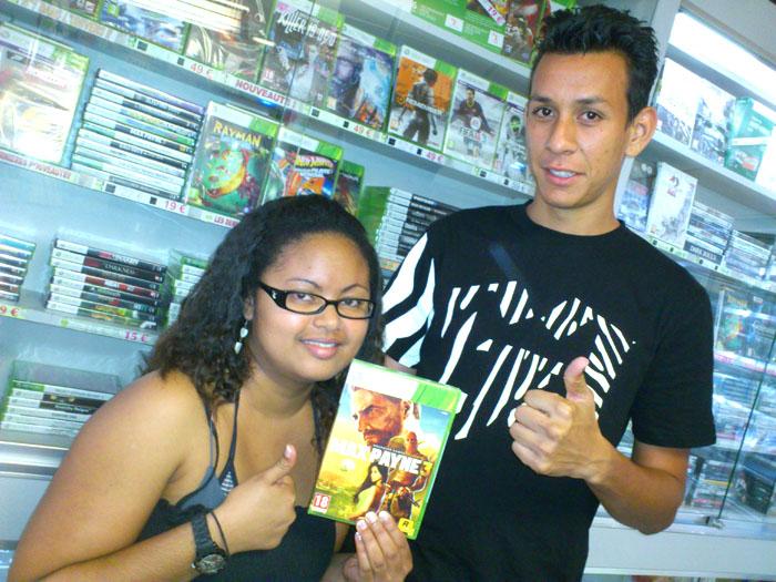 Samuela Edmond a gagné MAX PAYNE 3sur Xbox 360