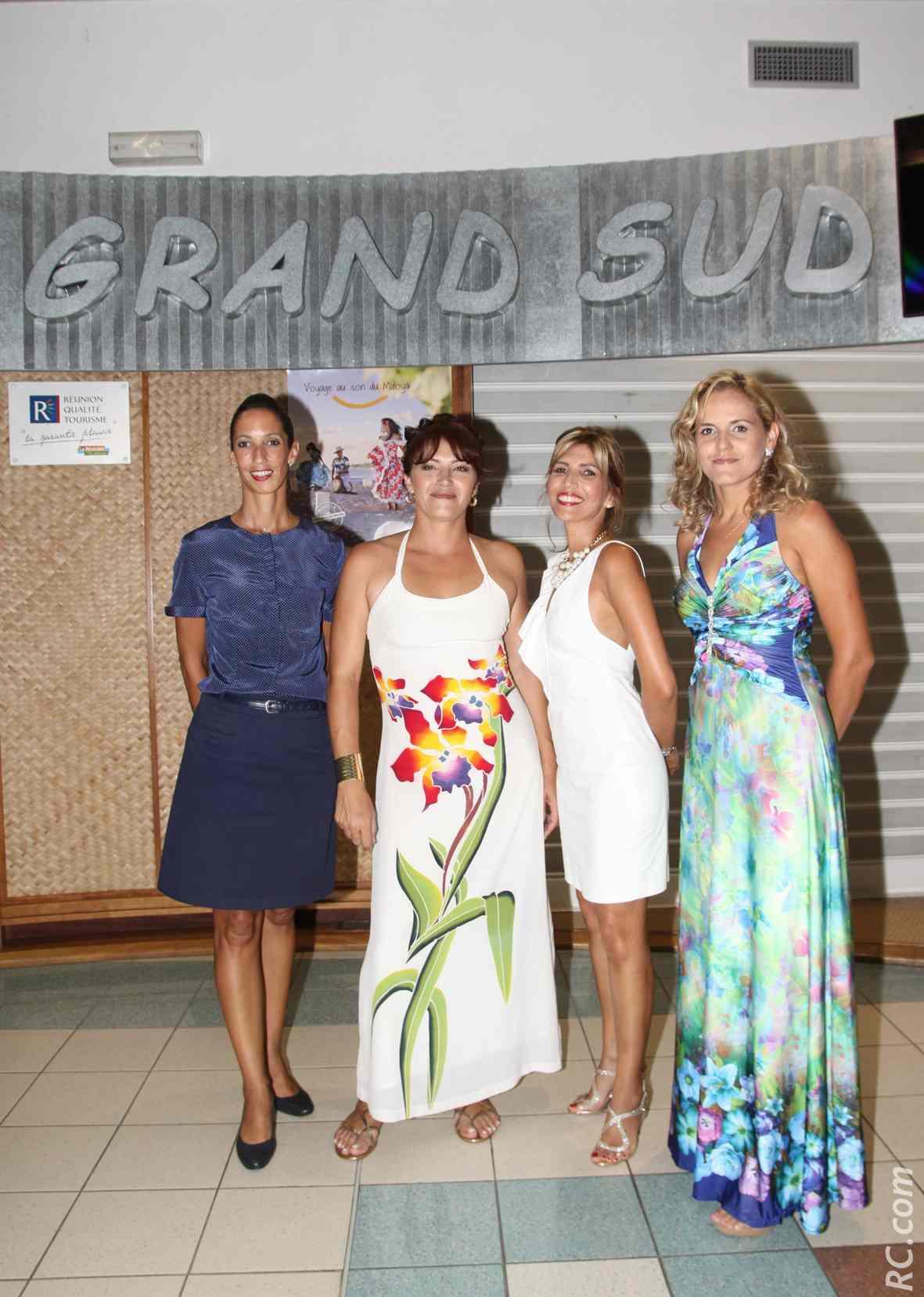 Linda, Isabelle, Erika et Sabrina, SMP/agents d'aéroport