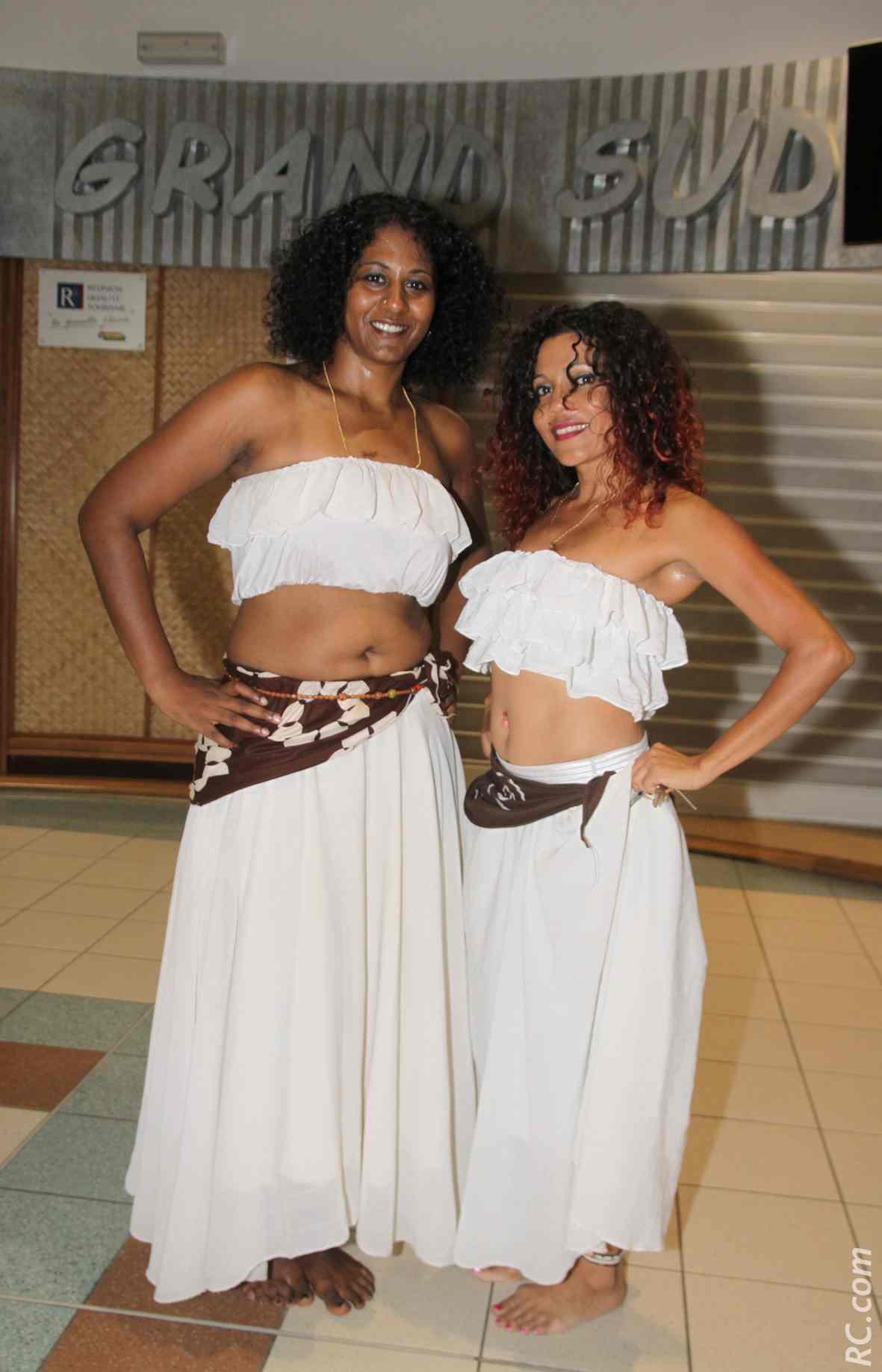 Ila et Gina du groupe Kouler Péï
