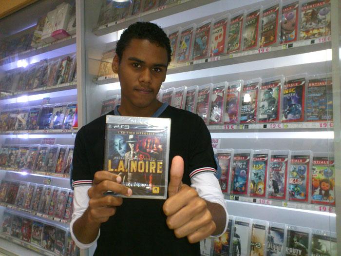 Brandon à gagné L.A. NOIR sur Playstation 3