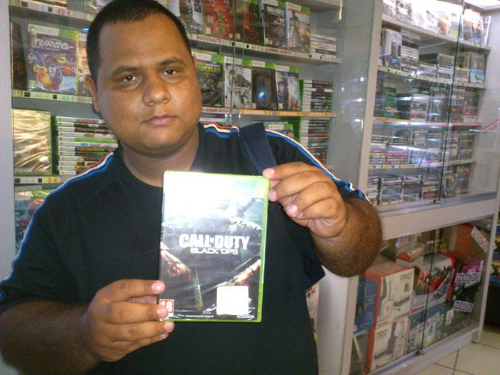 Alexandre Noël a gagné Call of Duty Black OPS sur XBOX 360