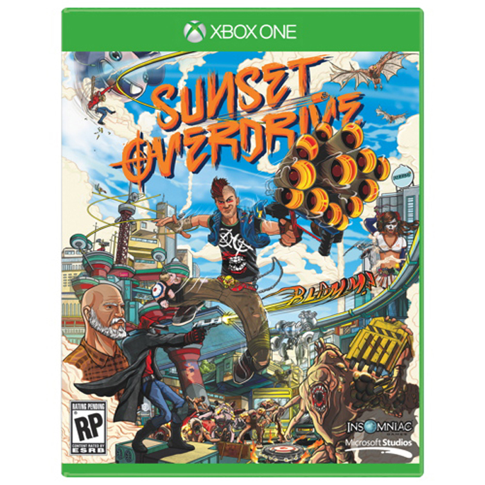 WWE 2K15 et Sunset Overdrive